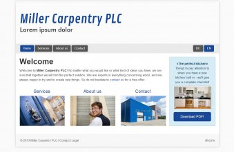 Carpentry - Template